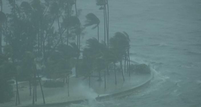 El furioso huracán Irma arrasa todo a su paso