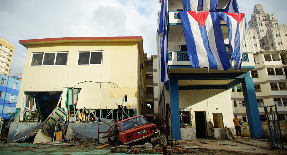 La Habana tras el paso del huracán Irma
