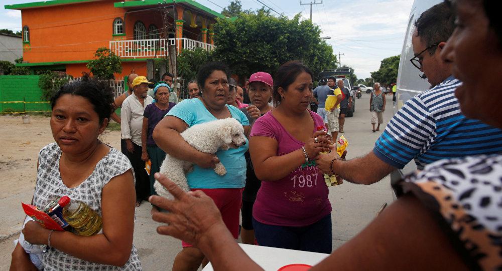 Ofrece EU apoyo a México por sismo y paso de Katia