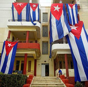 Banderas de Cuba (archivo)