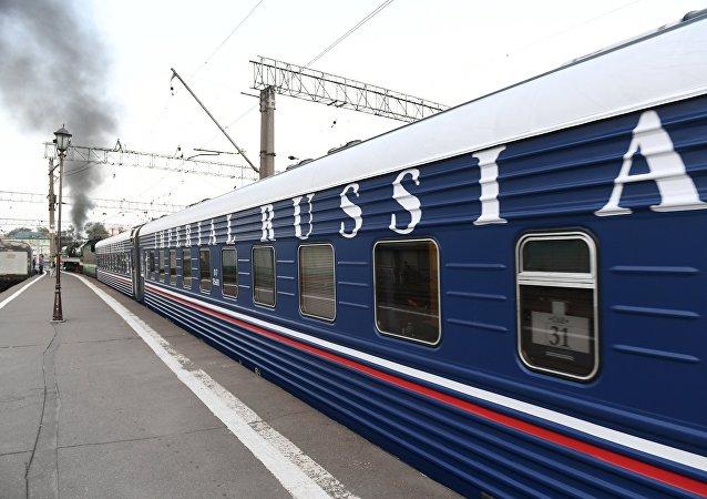 El tren turístico Rusia Imperial