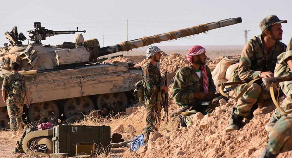 Las tropas sirias