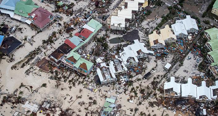 Consecuencias del huracán Irma en la isla de San Martín