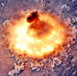 Explosión termobárica (imagen referencial)