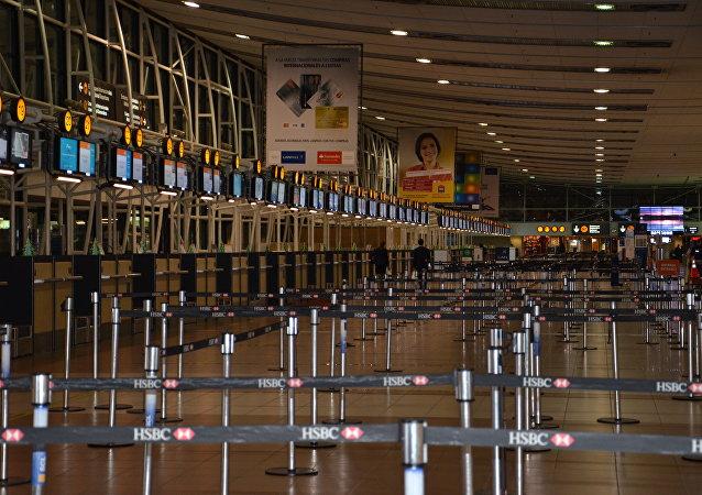 Aeropuerto en Santiago de Chile (archivo)