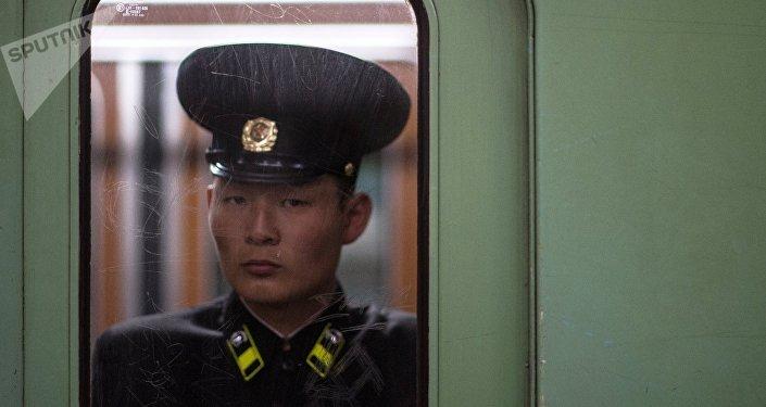 Un norcoreano (archivo)