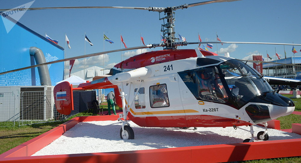 El helicóptero Ka-226T (archivo)