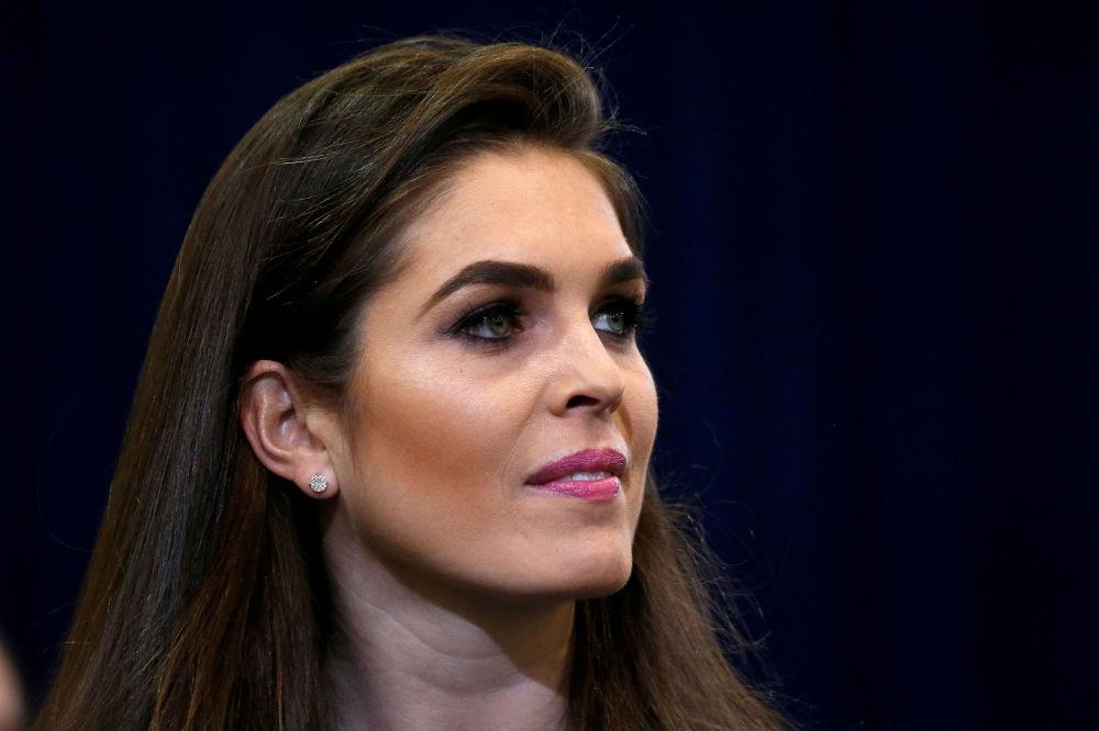 Una exmodelo, la esperanzadora nueva directora de Comunicaciones de Trump