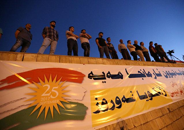 Los kurdos iraquíes, partidarios del referéndum independista