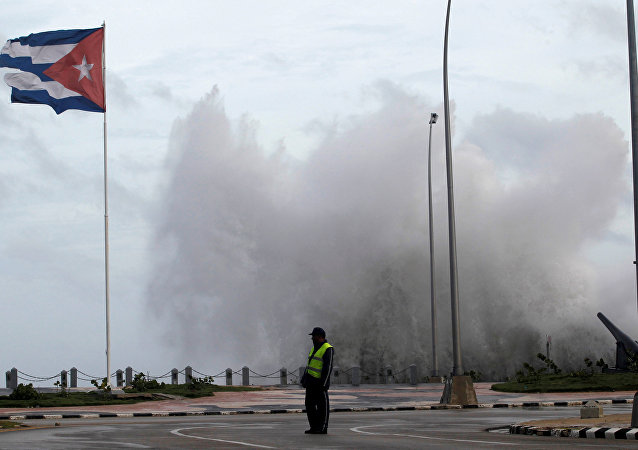 Huracán Irma en La Habana, Cuba (archivo)