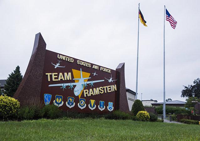 La base aérea estadounidense Ramstein (archivo)