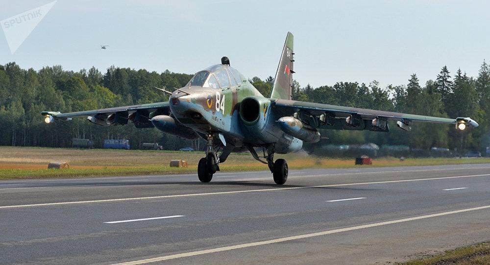 Avión Yak-130 de las FFAA de Bielorrusia