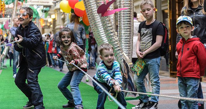 Niños jugando (imagen referencial)