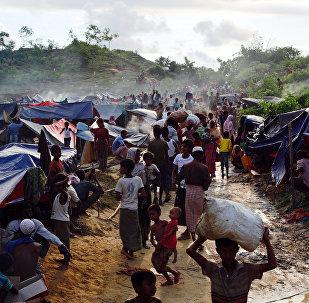 Refugiados rohinyás en Bangladés