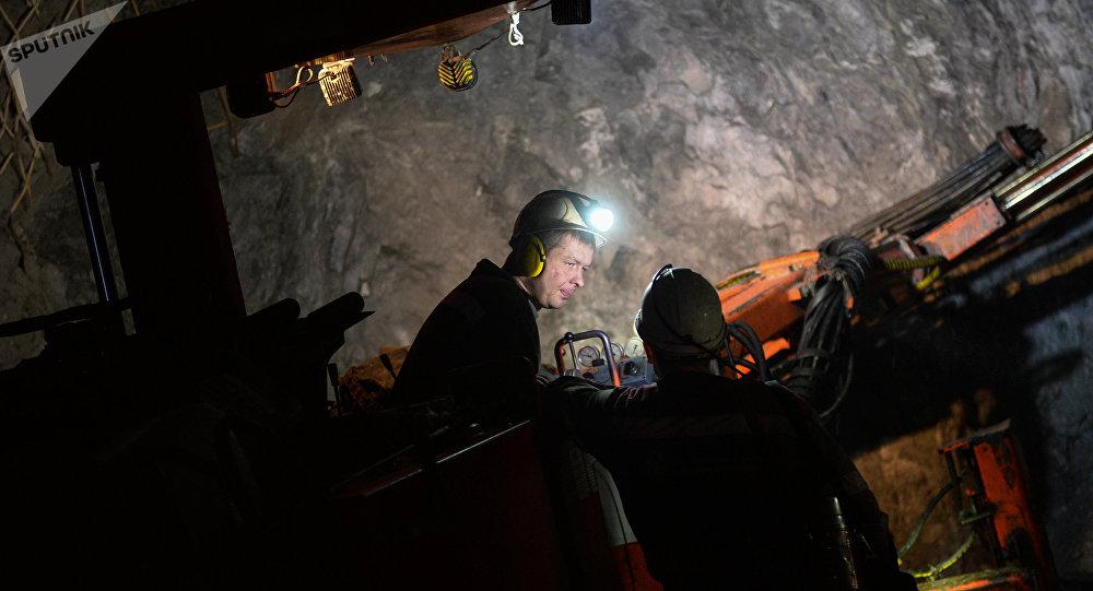 Mineros rusos (archivo)