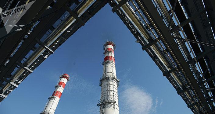 Central termoeléctrica (archivo)