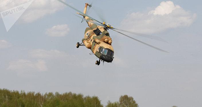 Helicóptero Mi-17 (archivo)