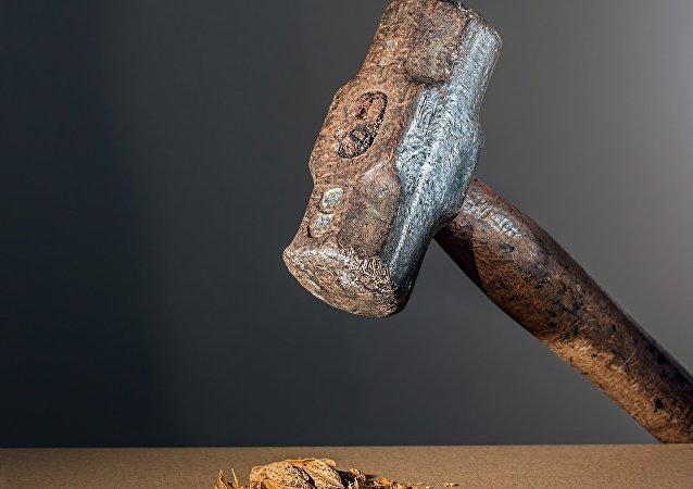 Un martillo