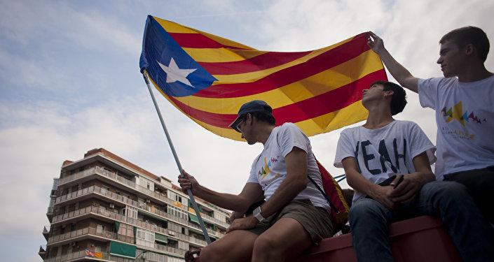 Diada 2017: así fue la marcha por la independencia catalana