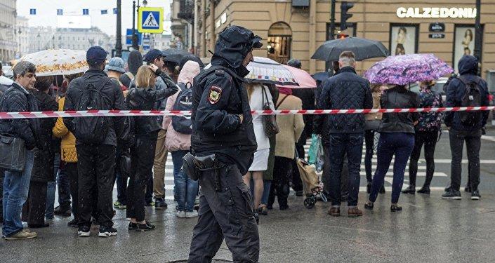 Evacuacion en San Petersburgo