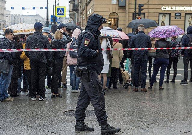 La evacuación en Rusia