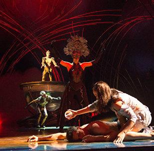El espectáculo Amaluna del Cirque du Soleil