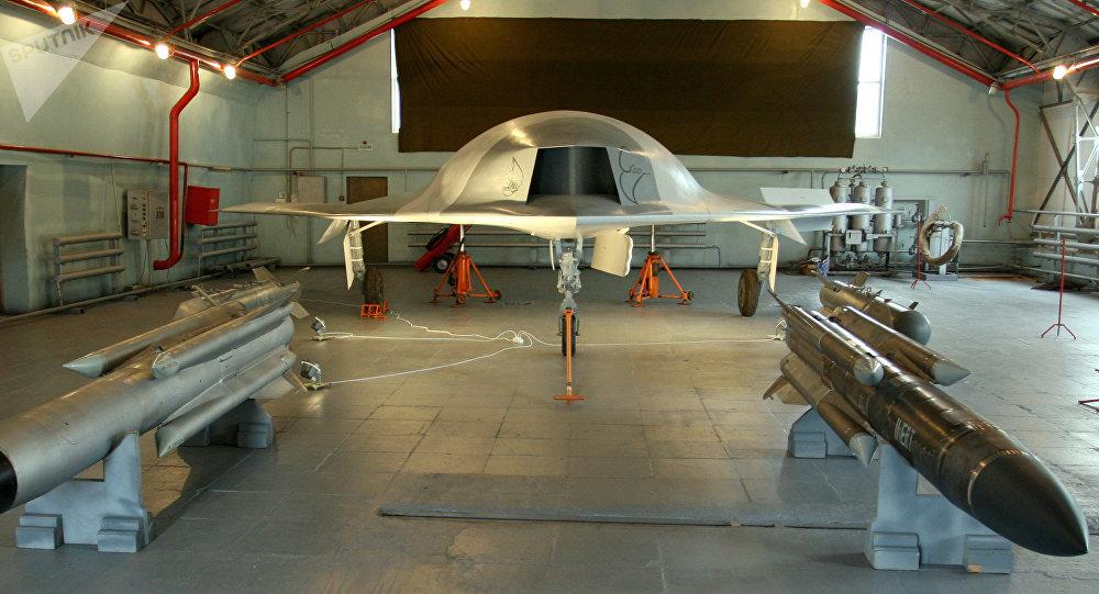 Un dron de la aeronáutica rusa MiG (archivo)