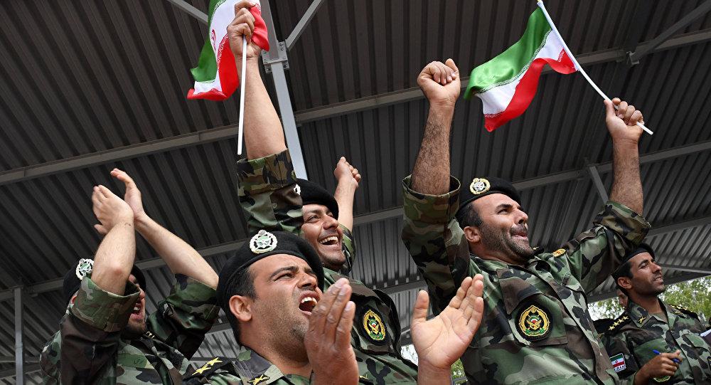 Los militares de las Fuerzas Armadas iraníes