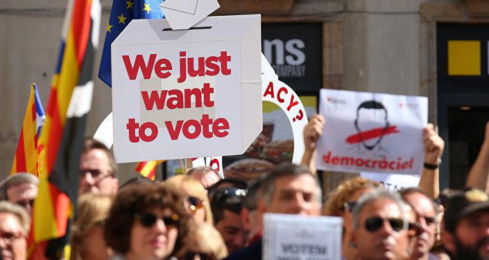 Las manifestaciones an Cataluña