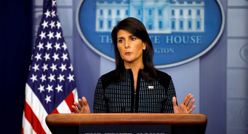Nikki Haley, embajadora de EEUU ante la ONU