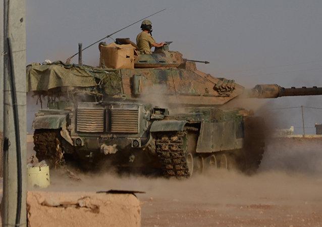 Un tanque turco en Siria (archivo)