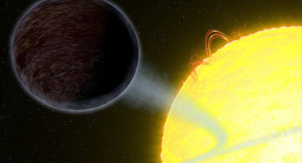 Descubren planeta que traga luz por medio del telescopio Hubble