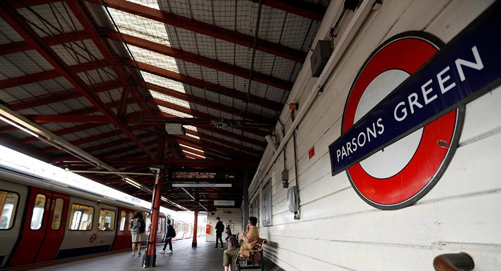 Estación de metro Parsons Green en Londres, Reino Unido (archivo)