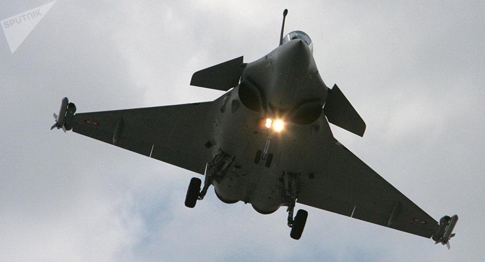 Un avión caza Eurofighter Typhoon (archivo)
