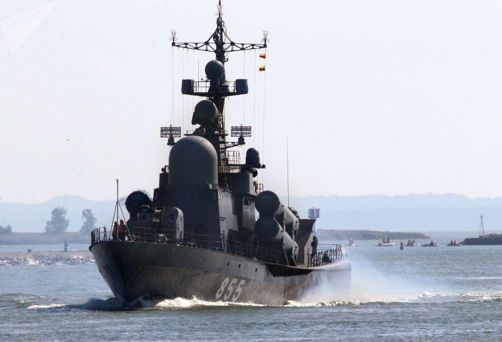 La gloria de la Flota del Báltico, plasmada en las maniobras Zapad 2017