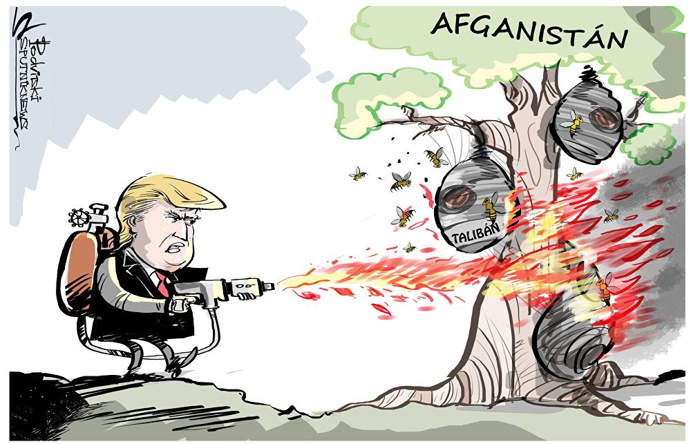Trump lleva más violencia a Afganistán