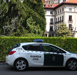 Coche de la Guardia Civil española