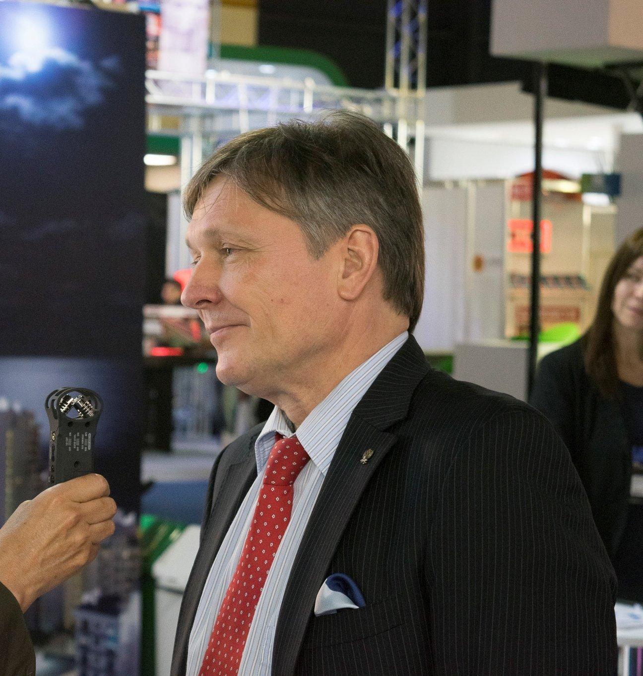 El embajador de Rusia en Argentina, Viktor Koronelli