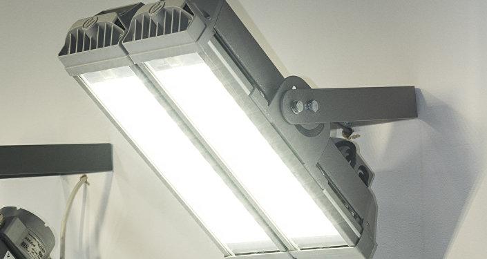 Luminarias de la empresa rusa Incotex para el sector industrial