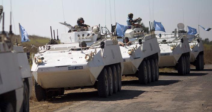 Cascos azules de la ONU (archivo)