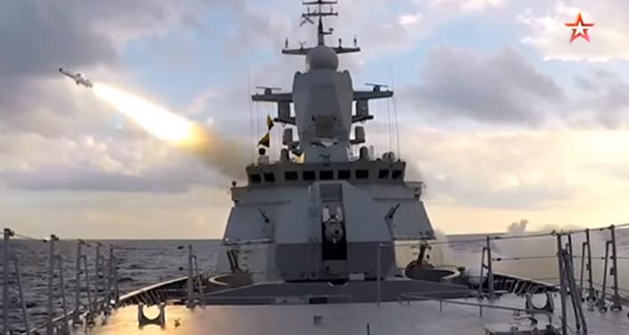 El simulacro de lanzamiento de misiles rusos en el mar Báltico