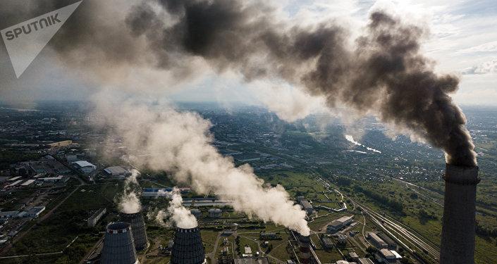 Contaminación (imagen referencial)