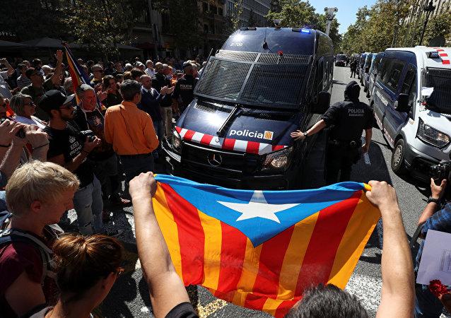La policía española