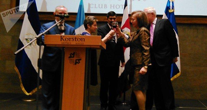 ¡Viva la amistad entre Centromérica y Rusia!