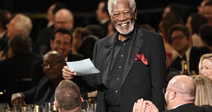 El actor estadounidense Morgan Freeman