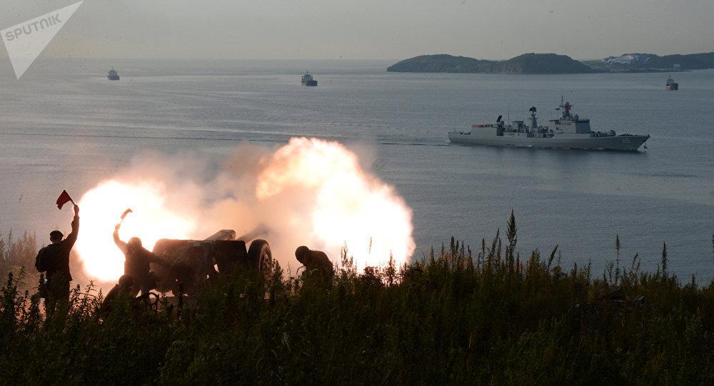 El ejercicio ruso-chino Cooperación Naval 2017