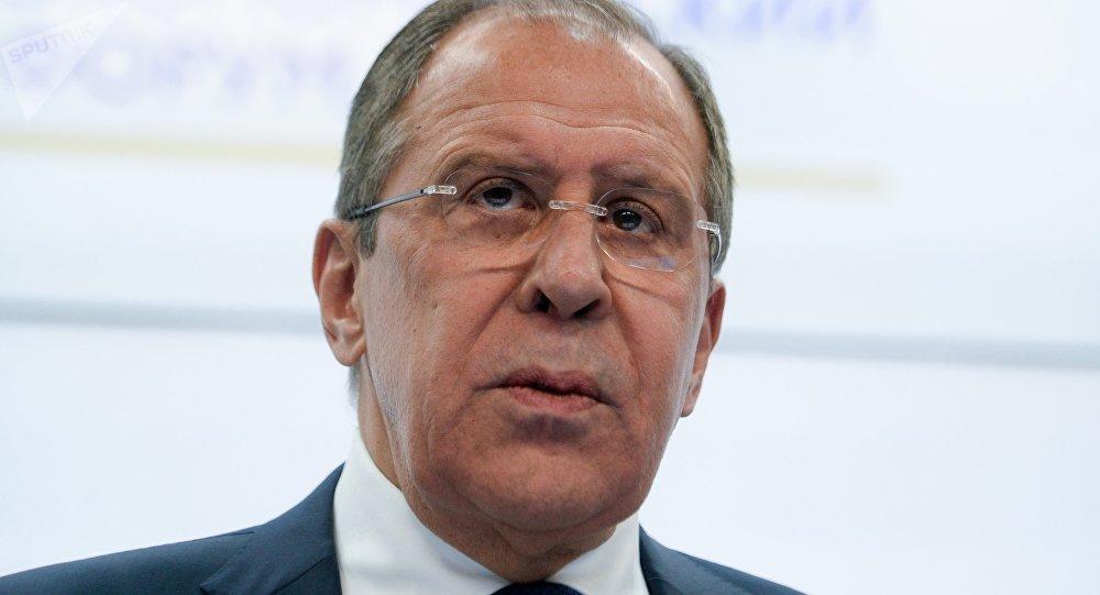 Serguéi Lavrov, ministro de Exteriores de Rusia, en el SPIEF 2016