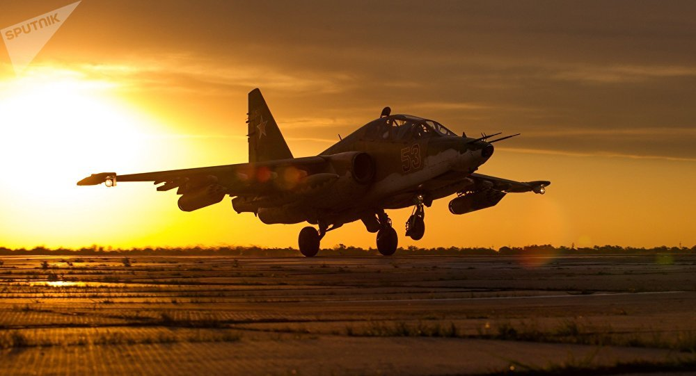 Su-25SM3, avión ruso de ataque a tierra