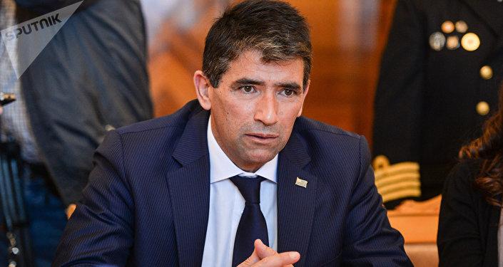 Raúl Sendic, el vicepresidente de Uruguay