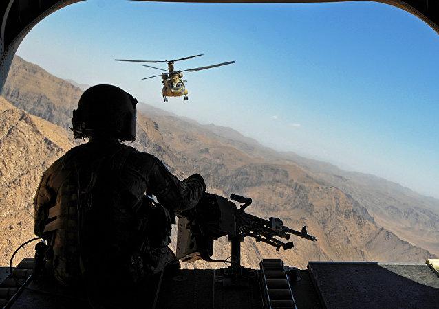Militares estadounidenses en Afganistán